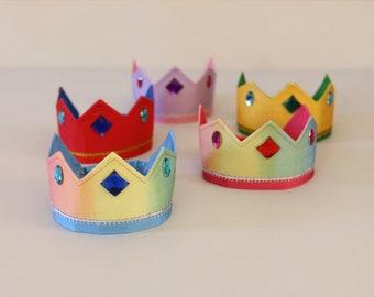 Reversible Silk Crown