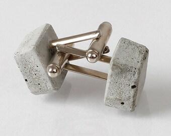darby | cufflinks of concrete