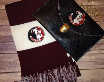 Florida State scarf, FSU Scarf - Personalizing Available