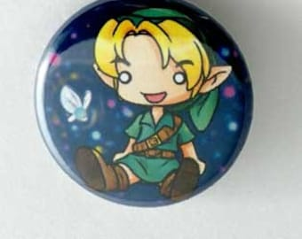 Legend of Zelda - Link Button