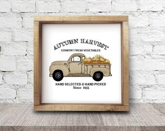 Autumn Harvest Art Print