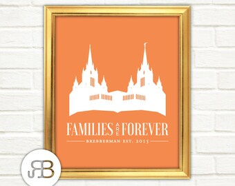 LDS Temple - San Diego California - Personalized Printable Design - PDF / JPEG File