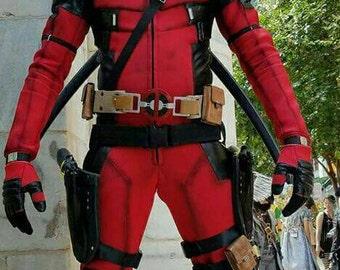 Deadpool Cosplay costume & masque seulement sans accessoires
