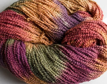 Puffin, Hand dyed cotton yarn, 8oz, 370 yds - Old Brass