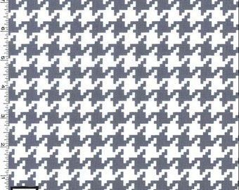 Michael Miller - Everyday Houndstooth - Gray