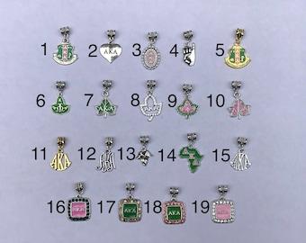 Alpha Kappa Alpha Bracelet Charms 23 To Choose From