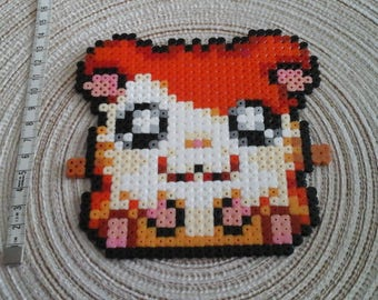 Hamtaro in pixel art