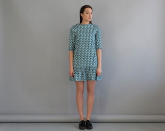 Simple dress women, Women modest dress, Simple cotton dress, Cotton dress short, Short casual dress, Simple summer dress, Simple dresses