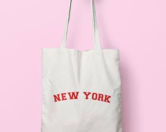 New York Tote Bag Long Handles TB0923