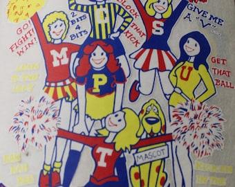 Cheerleaders - We Got Spirit  Heat Transfer