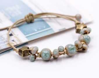 Retro style Ceramic Bracelet