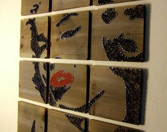 Marilyn Monroe Modern String Art Tablets - Set of 12 Tablets, Made to Order