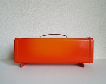 Vintage Brabantia cake box / bin – flame