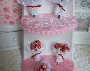 BOUQUET of ROSES 1: 12 Dollhouse miniature