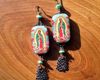 Virgin de Guadalupe Earrings