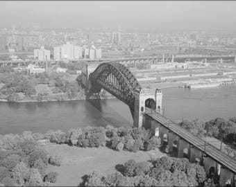 Poster, Many Sizes Available; Hell Gate Bridge From West Looking Northeast 348973Pv