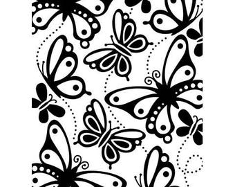 Darice Embossing Folder - Butterflies - 4.25 x 5.75 inches Card Making