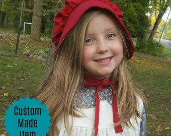 Custom Prairie Bonnet