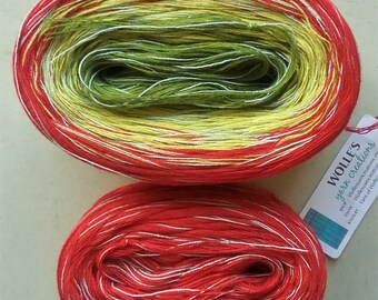 Kit -- MARTINI MEDLEY 2 -- Sport Weight -- Color Changing Cotton yarn (150 gr /480 yards)