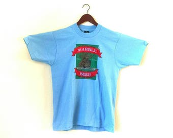 Vintage Mountain Goodness Marble Beer screen stars best tshirt