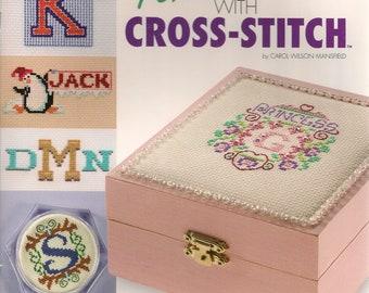 Cross Stitch Patterns,Personalize it with Cross Stitch,Cross Stitch Alphabet,Cross Stitch Frames,Cross Stitch Monogram,Cross Stitch Leaflet