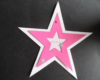 "25 make girl birth announcement ""Star"""