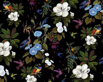 """Fabric by the yard Velvet """"Once upon a time"""" by Thévenon"""