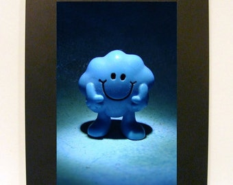 "Framed Mr. Daydream Toy Photograph 5"" x 7"" Little Men"