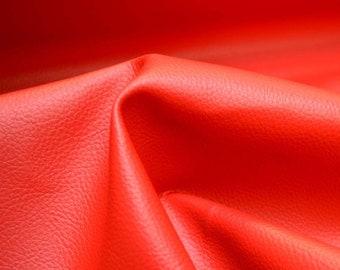 Red Vinyl Upholstery