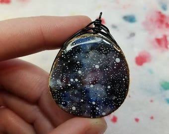 Aquarius zodiac/constellation pendant