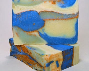 Deep Blue Soap Bar