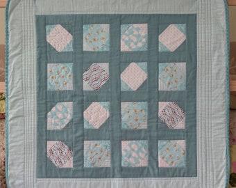 Aqua quilt