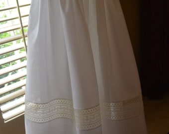 Boy's Christening Gown with Pin Tucks
