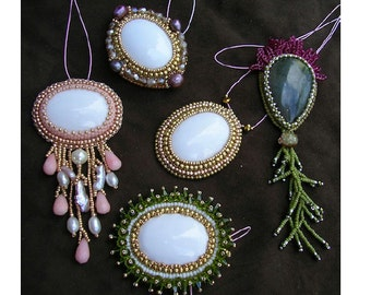 TUTORIAL - Tips and Tricks in bead embroidery