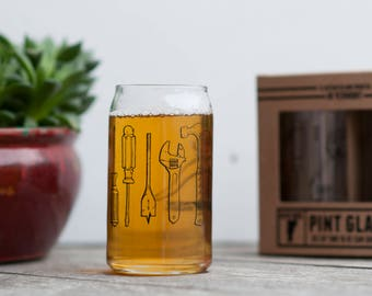Pint Glass Set of two Tools design