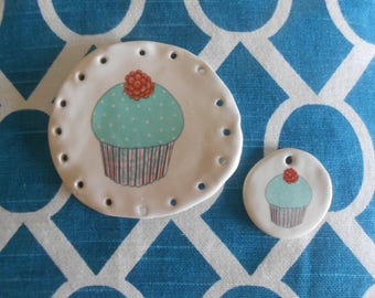 Happy Birthday basketry base with matching embellishment