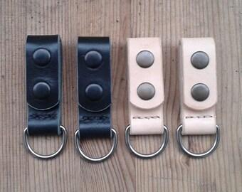 Loop D belt loop key ring belt loop