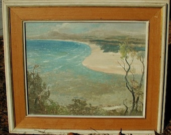 Oil Painting L V Solomon Impressionist,Very Rare, Framed Original Art