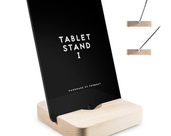 Tablet stand I//maple