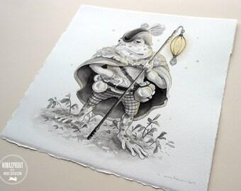 Frog Adventurer - Original Painting
