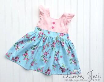 Toddler Girl Dresses, Little Girls Dress, Baby Girls Dress, Newborn Girls Dress, Baby Easter Dress, Girls Spring Dress, Toddler Easter Dress