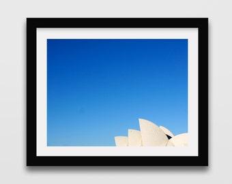 Sydney Opera House photography print // Sydney Print // Street photography // Australia Photography // Travel photography // Wall art //