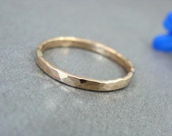 glimmer ... 14k gold ring