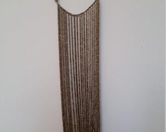 Africa handmade long beaded necklace