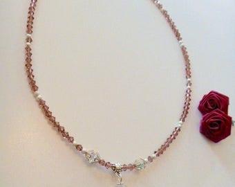 Swarovski Crystal Devoted Heart Pendant Necklace