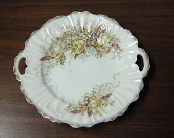 Vintage German KPM China Hand painted Platter