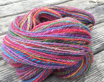 Color Tag BFL Hand Spun Yarn