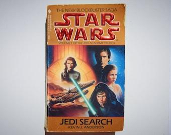 Star Wars Volume 1 of the Jedi Academy Trilogy Jedi Search by Kevin J. Anderson Vintage 1994 Paperback