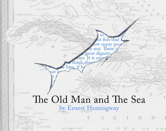 The Old Man and The Sea Print Poster Print