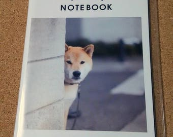 Shiba Inu notebook cover with A6